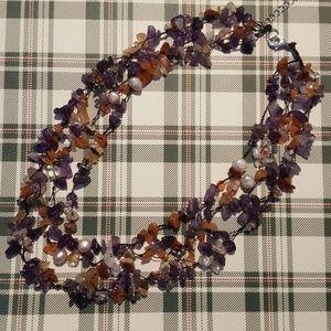 Jewelry - Amethyst Multi Gemstone Nacklace
